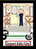 Police Officer Cartoon Picture Male - Personalized 8162