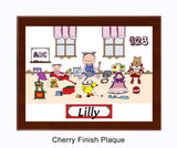 Kid's Room Plaque Female - Personalized