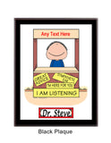 Advisor / Counselor Plaque Male - Personalized
