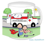 Paramedic EMT Female Mug - Personalized