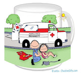 Paramedic EMT Male Mug - Personalized