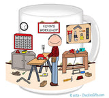 Carpenter Mug Male - Personalized