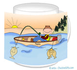 Fisherman Mug Male - Personalized