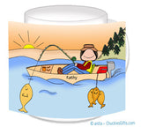 Fisherman Mug Female - Personalized