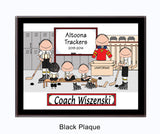 Hockey Coach Plaque -Male Personalized