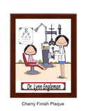 Eye Doctor Plaque - Female - Personalized
