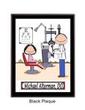 Eye Doctor Plaque - Male - Personalized