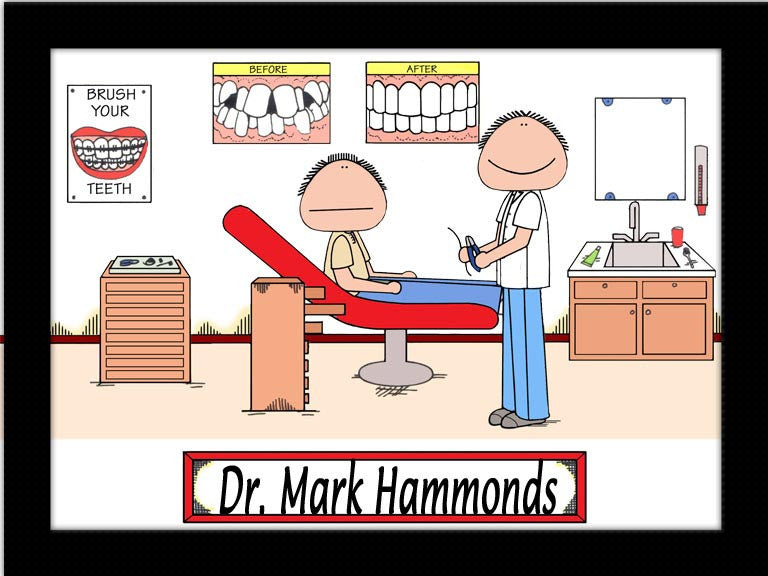 Orthodontist Cartoon Picture