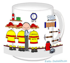 Fire Station Male - Personalized