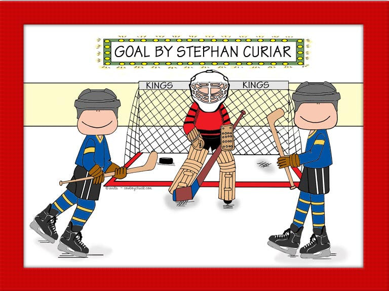 Hockey Star Cartoon Picture