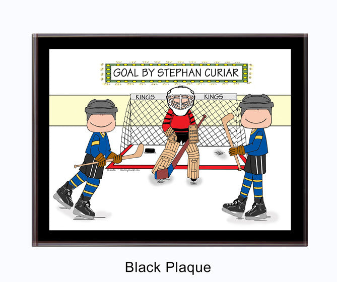 Hockey Star Plaque