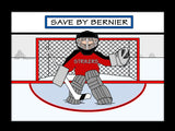 Hockey Goalie Cartoon Picture Male - Personalized 8286