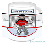 Hockey Goalie Mug Male Personalized