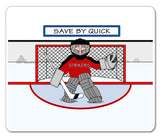 Ice Hockey Goalie Male - Personalized