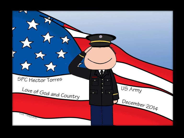 Military Dress Cartoon Picture