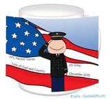 Army Dress Mug Male Personalized