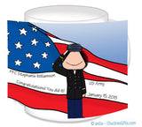 Army Dress Mug Female Personalized
