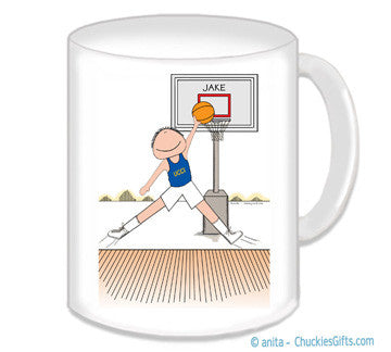 Basketball Star Mug Male - Personalized