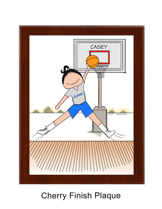 Basketball Star Plaque