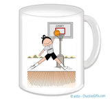 Basketball Star Mug Female - Personalized