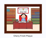Attorney Lawyer Plaque Female - Personalized