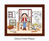 Contractor Plaque Female - Personalized