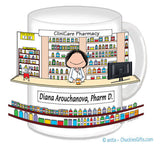 Pharmacist Mug Female - Personalized