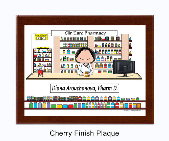 Pharmacist Plaque
