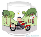 Motorcycle Mug Male - Personalized