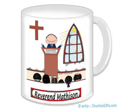 Minister Mug Male - Personalized