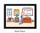 Instructor Plaque Male - Personalized