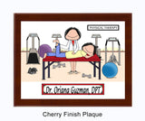 Physical Therapist Plaque Female - Personalized