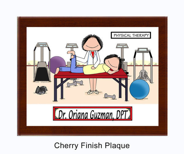 Physical Therapist Plaque Personalized Therapy Gifts