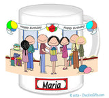 Birthday Party Mug Female - Personalized