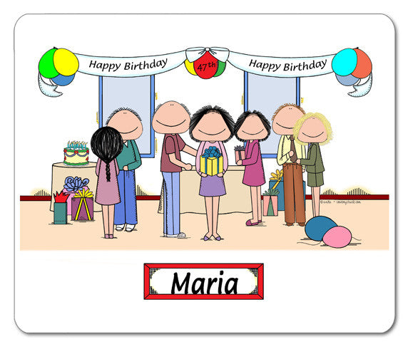 Birthday Party Mouse Pad