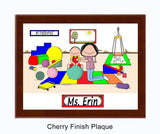 Pediatric Physical Therapist Plaque Female - Personalized