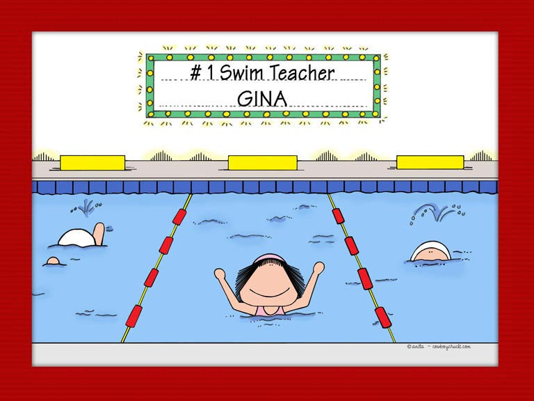 Swimmer Cartoon Picture
