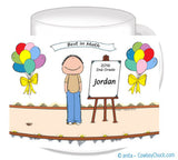 Award for Child Mug Male - Personalized 8422