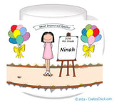 Award for Child Mug Female - Personalized 8423