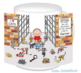Cat Lover Mug Male - Personalized