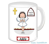 1st Communion Mug Female - Personalized