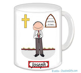 1st Communion Mug Male - Personalized