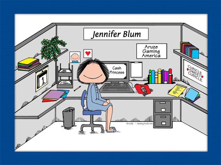 Cubicle Sweet Cubicle Cartoon Picture