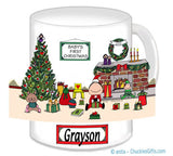 Baby's First Christmas Mug Male - Personalized