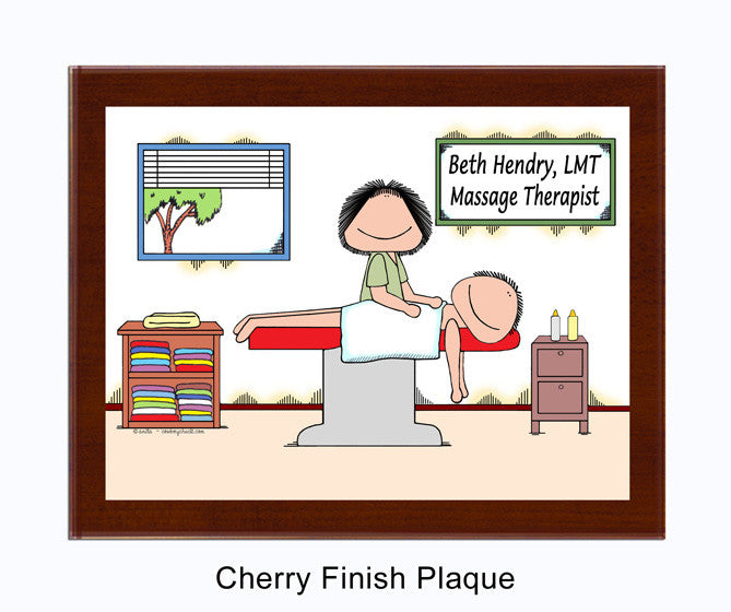 Massage Therapist Plaque