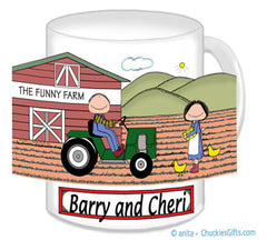 Farming Couple Mug - Personalized