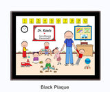 Daycare / PreSchool Plaque Male - Personalized