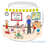 Daycare / Preschool Mug Male - Personalized