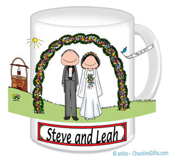 Wedding Outdoor Couple Mug