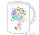 New Baby News Mug with Pink PJ's Personalized